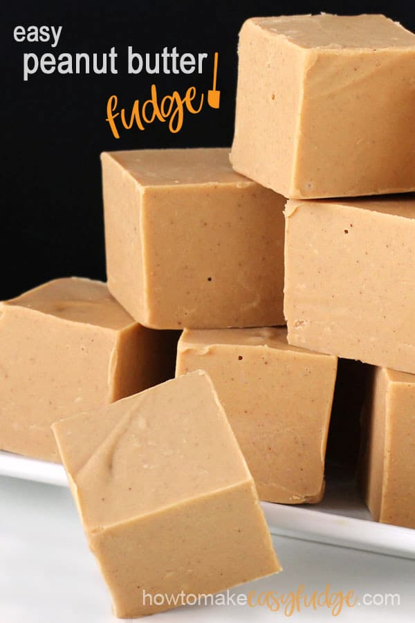 How to make easy peanut butter fudge in the microwave