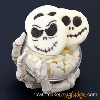Jack Skellington Fudge Recipe