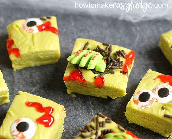 zombie fudge close-up image
