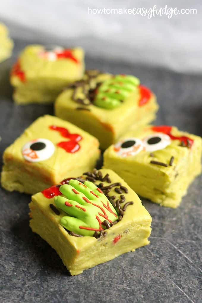 zombie fudge for Halloween image