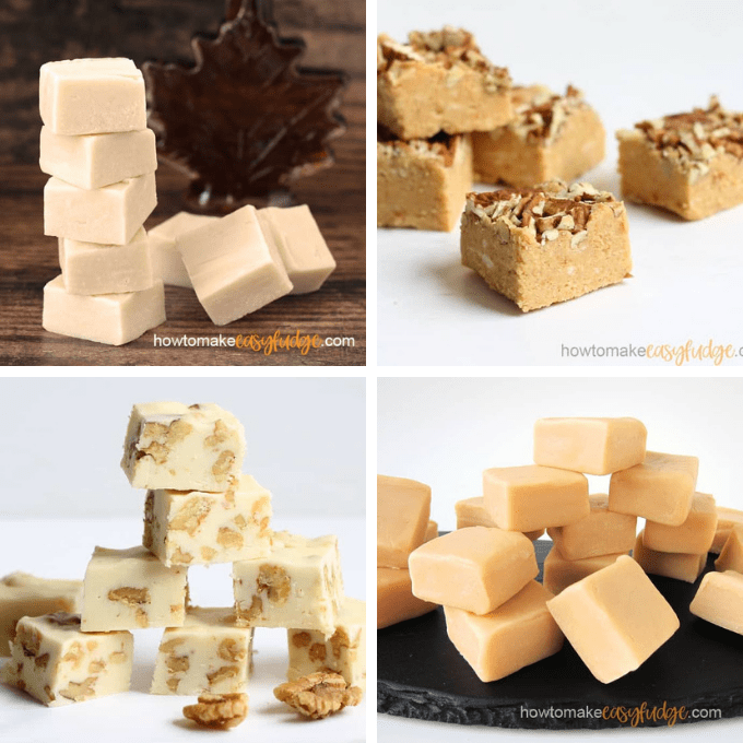 fall fudge flavors image