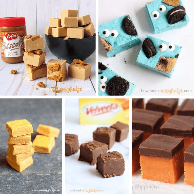 fun fudge ideas roundup image