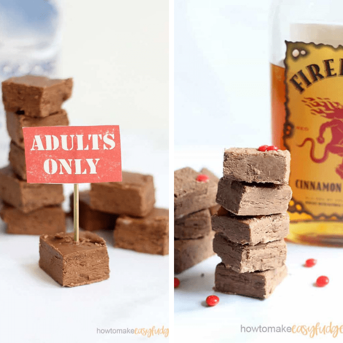 boozy fudge image roundup