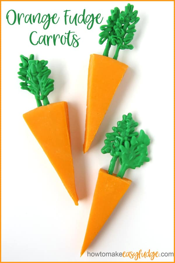 Orange Fudge Carrots